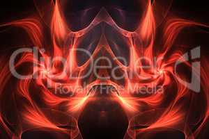 "Fractal image: ""virtual fire"""