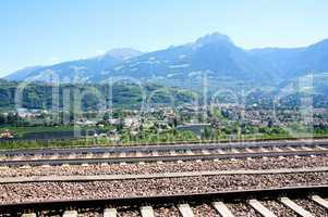 Dorf Tirol und Meran