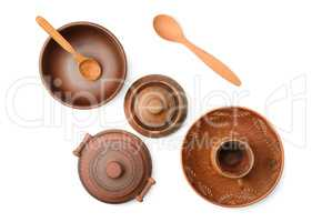 Pottery (pot, plate, cup)