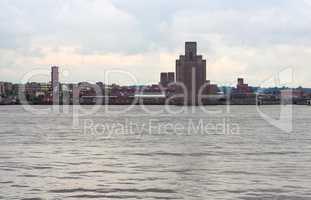 View of Birkenhead in Liverpool