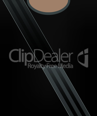 Safety belt concept vector illustration