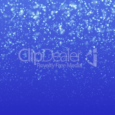 Christmas background with falling snow vector illustration