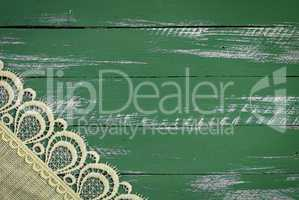 Abstract vintage wooden green background
