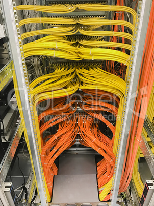 Netzwerk Switch Anschlüsse für Netzwerkkabel RJ45
