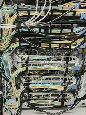 Netzwerk Switch Anschlüsse für Netzwerkkabel