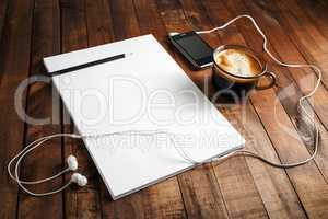 Blank paperwork template