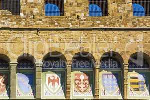 emblems of the Florentine Republic