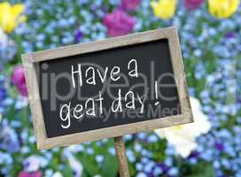 Have a great day !