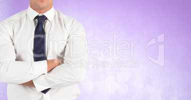 Businessman Torso against neutral background