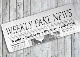 Weekly Fake News Newspaper
