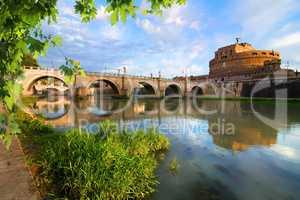 Italian bridge of Saint Angelo