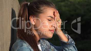 Anger Anxiety And Worry Among Teen Girls