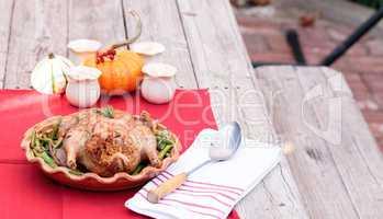 Rosemary roasted duck