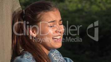Crazy Erratic Behavior Of Teen Girl