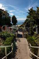 Steps to Shaw's Cove Beach in Laguna Beach