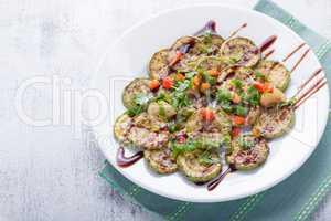 Fried zucchini dish
