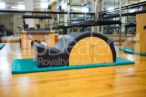 Arc barrel in fitness studio