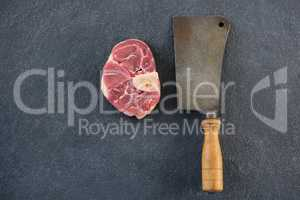 Sirloin chop and cleaver