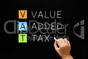 VAT - Value Added Tax On Blackboard