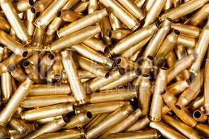 Used 5,56 mm bullets.