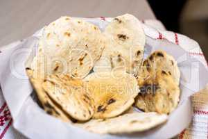 Fresh unleavened bread