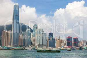 Hong Kong Skyline and Star Ferries