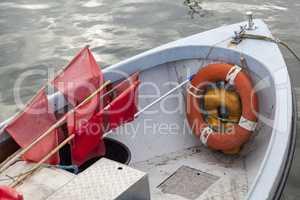 Bug eines Fischerboots