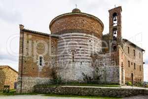 Church Eremo di Montesiepi in Tuscany