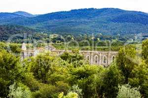 Church ruins of San Galgano in Tuscany
