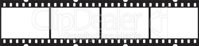 Filmstreifen waagrecht