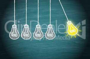 Great Idea, Innovation and Creativity Concept