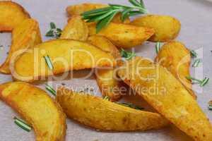 Wedges - Frittierte Kartoffelecken