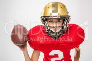 female american football player