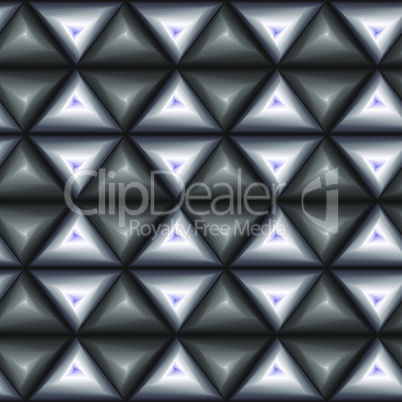 Seamless pattern with grey and blue triangle shapes