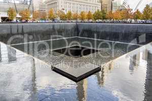 NYC's 9 11 Memorial at World Trade Center Ground Zero