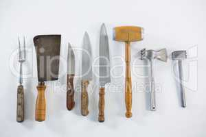 Meat cutting tools