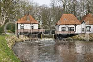 Water mill called Den Helder in Winterswijk in the Netherlands.