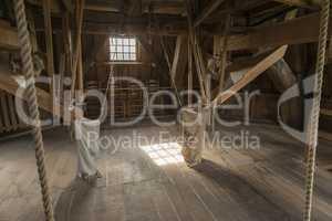 Interior mill Bataaf in Winterswijk .