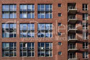 Fenster Hausfassade