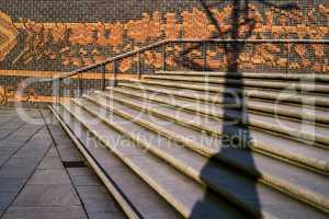 Treppen in Hafencity