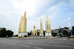 Democracy monument in Bangkok, Thailand.