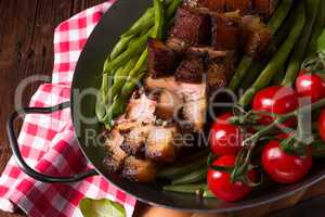 crispy roasts from the grill