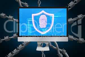 Composite image of fingerprint 3d
