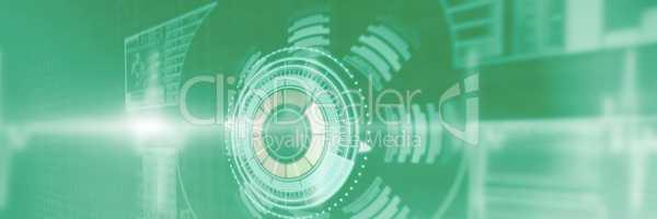 Composite image of composite image of illuminated volume knob 3d