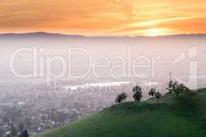 Breathtaking Silicon Valley Sunset