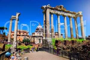 Visit to Roman Forum