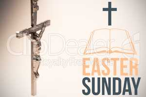 Composite image of easter sunday logo