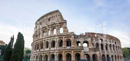 The Great Roman Colosseum Coliseum, Colosseo in Rome