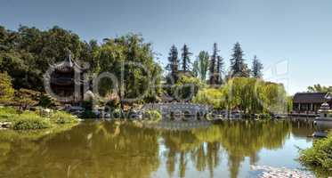Chinese garden at the Huntington Botanical Gardens