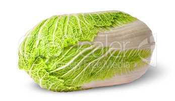 Chinese cabbage horizontally